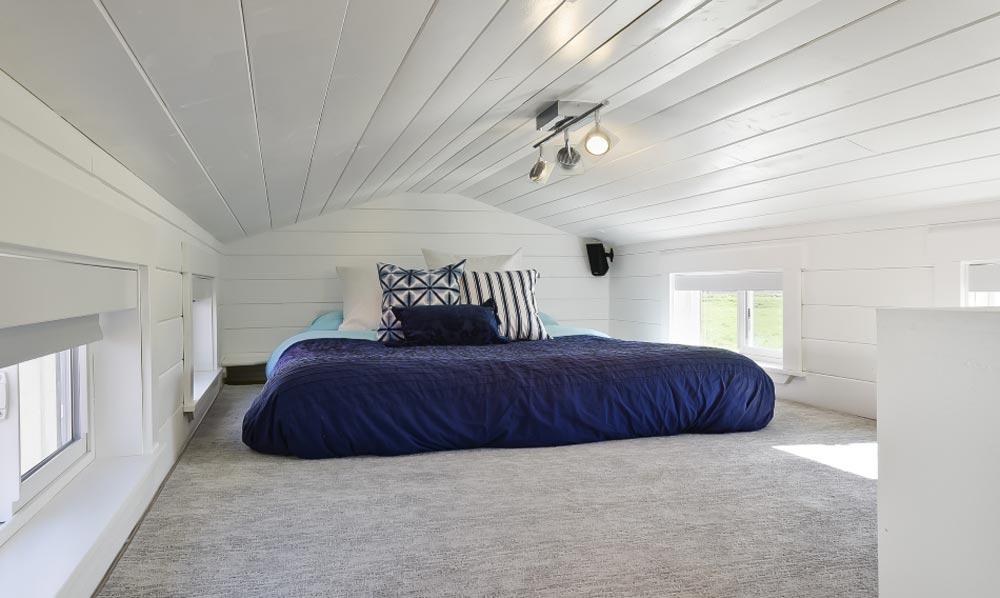 Bedroom Loft - Custom Tiny by Mint Tiny Homes