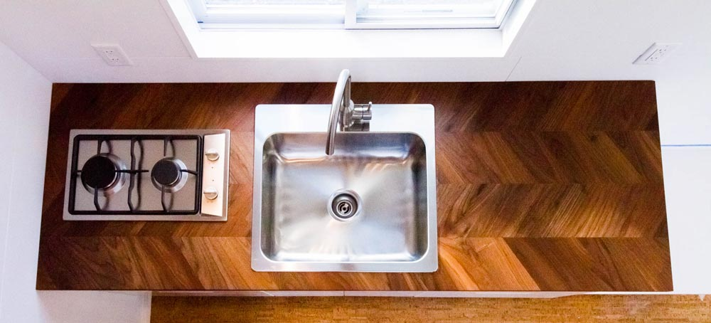 Kitchen Sink - Modern by Liberation Tiny Homes