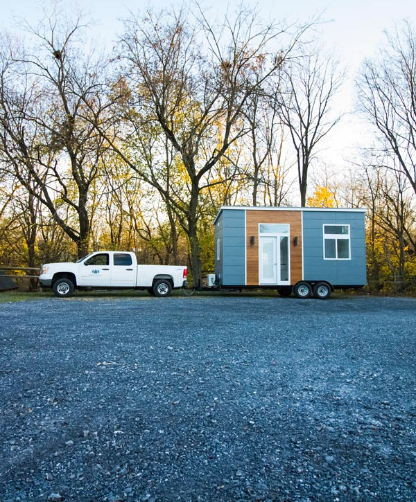 20' Tiny House on Wheels - Modern by Liberation Tiny Homes