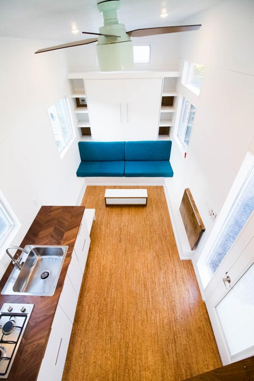 Interior Aerial View - Modern by Liberation Tiny Homes
