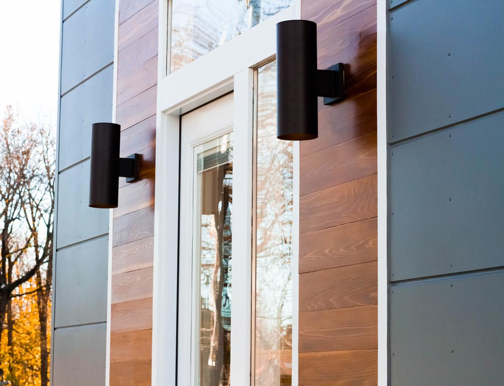 Exterior Detail - Modern by Liberation Tiny Homes