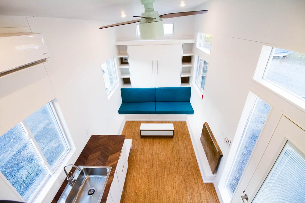 Kitchen & Living Room - Modern by Liberation Tiny Homes
