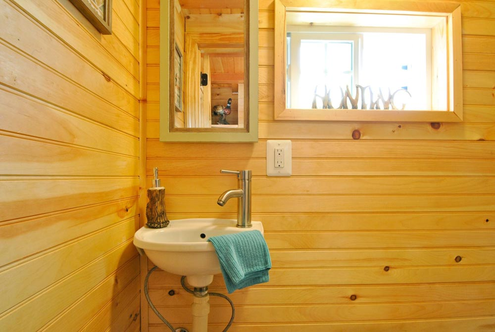 Bathroom - Mountaineer by Tiny House Building Company