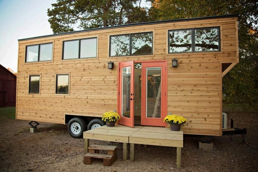 24' Tiny House - Peponi by Perch & Nest