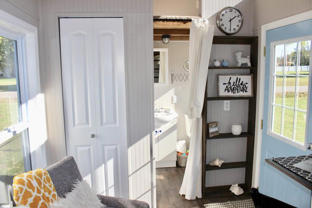 Built-In Shelves - Relax Shack by Mini Mansions