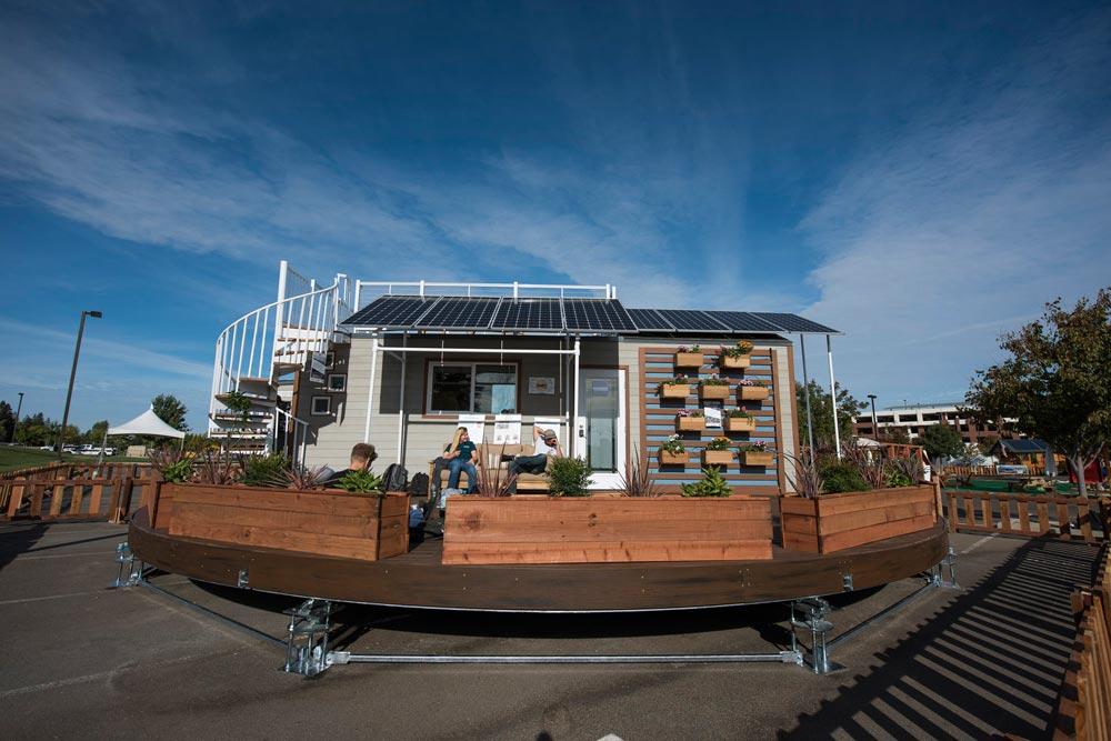 238 sq.ft. Off-Grid Tiny House - rEvolve by Santa Clara University