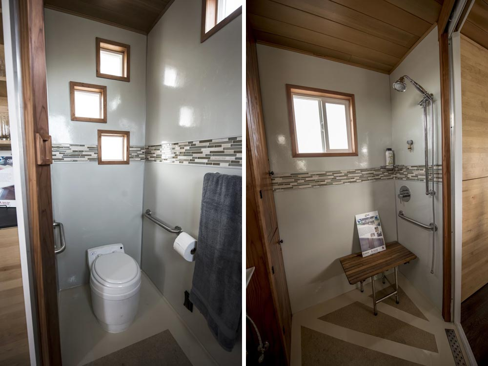 ADA Compliant Tiny House Bathroom - rEvolve by Santa Clara University