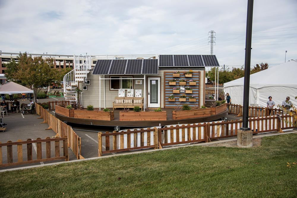 Tiny House Solar Panels - rEvolve by Santa Clara University