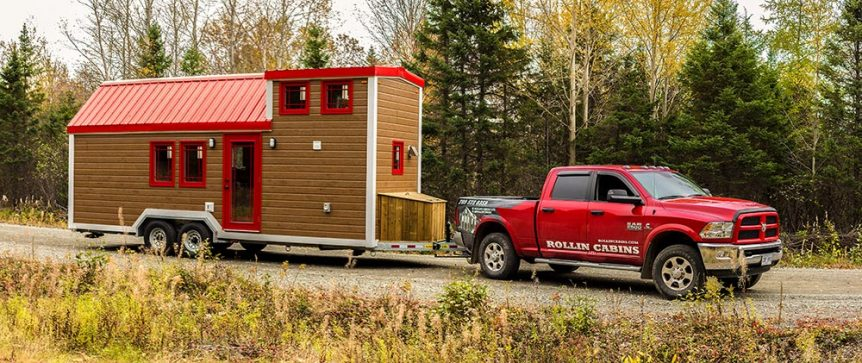 Tiny House on Wheels by Rollin Cabins