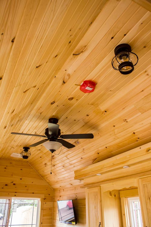Ceiling Fan - Tiny House by Rollin Cabins
