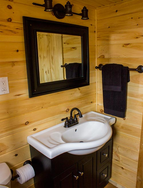 Bathroom Sink - Tiny House by Rollin Cabins