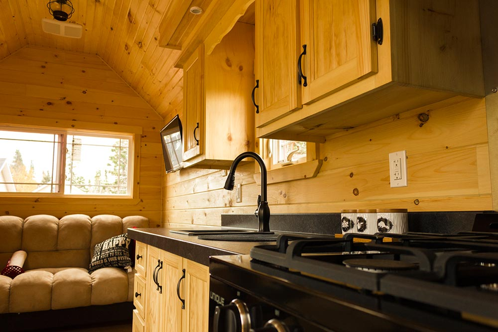 Full Kitchen - Tiny House by Rollin Cabins