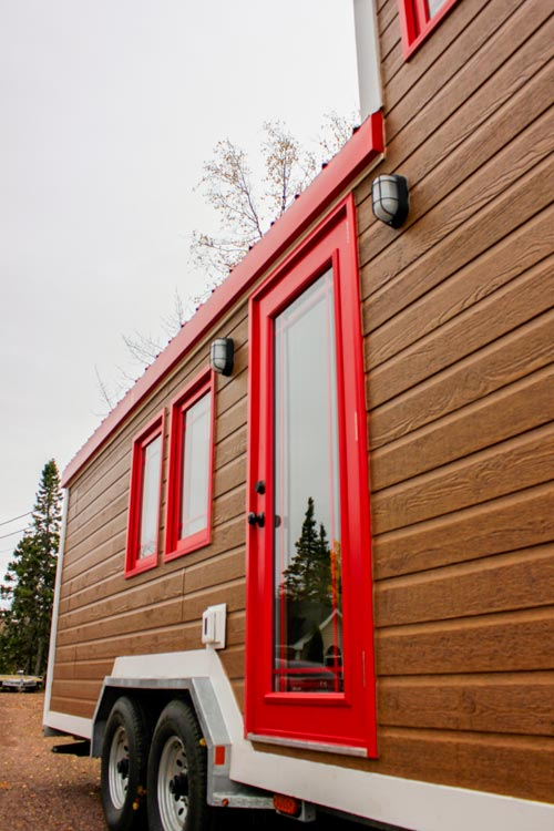 Entryway - Tiny House by Rollin Cabins