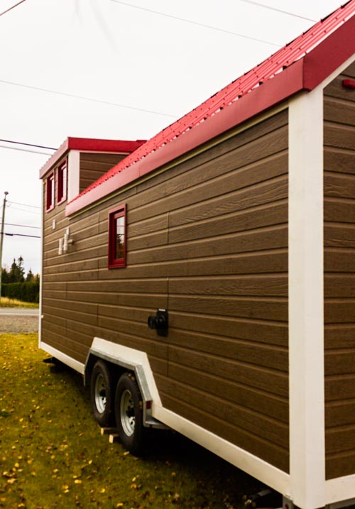 Exterior Rear View - Tiny House by Rollin Cabins