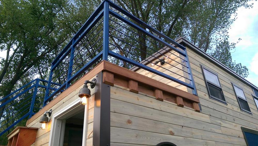 Balcony Railing - Ski Lodge by Maximum Extreme Living Solutions