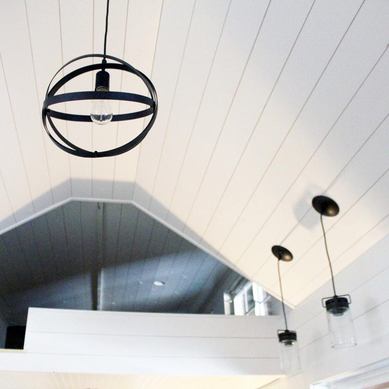 Lighting & Ceiling Detail - Sprout by Mustard Seed Tiny Homes