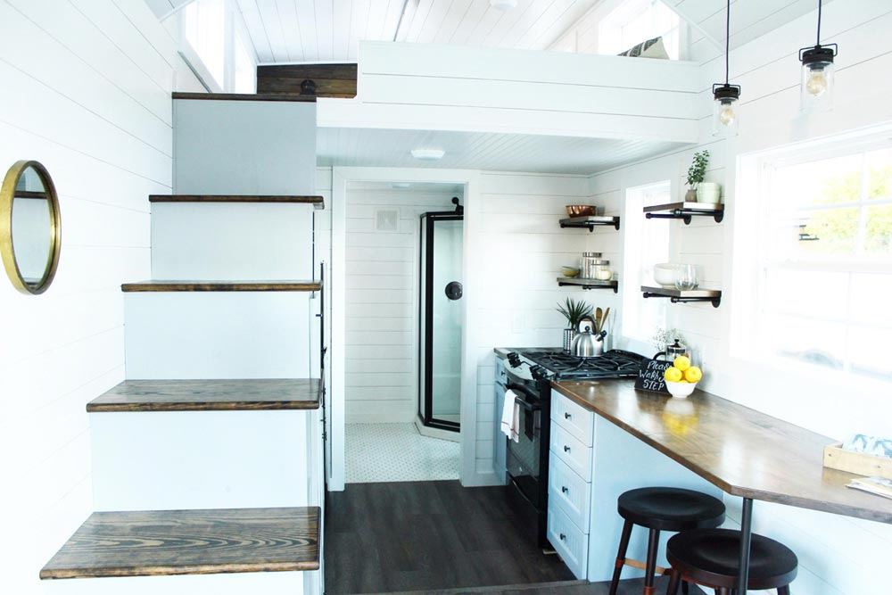 White Interior - Sprout by Mustard Seed Tiny Homes
