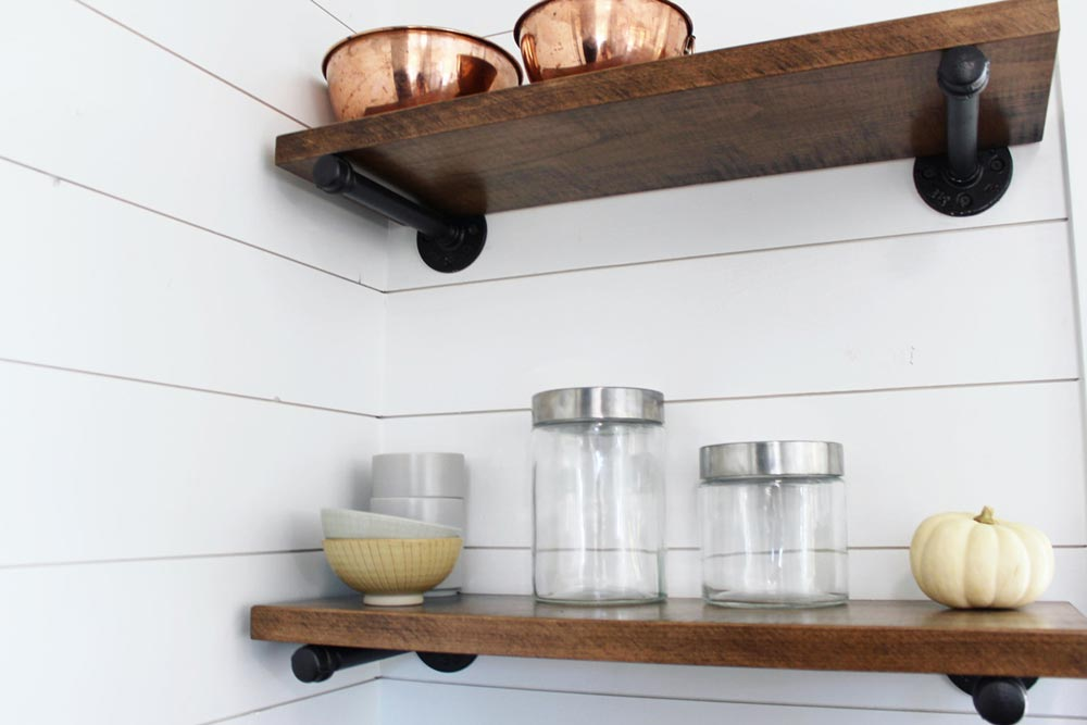 Open Shelving - Sprout by Mustard Seed Tiny Homes
