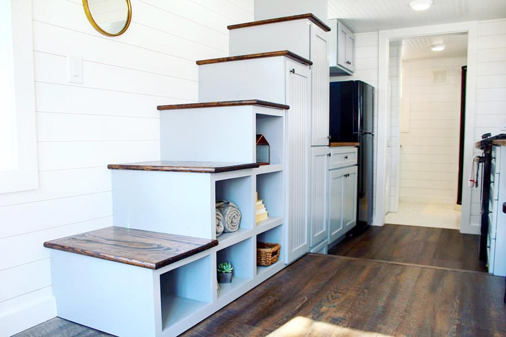 Storage Stairs - Sprout by Mustard Seed Tiny Homes