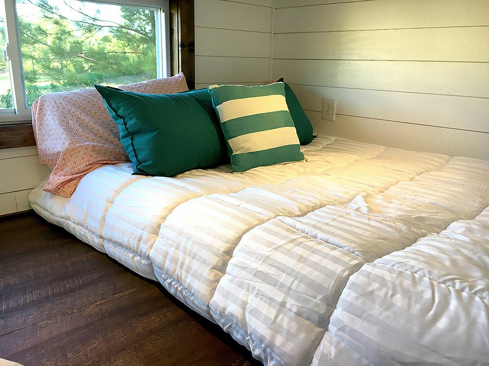 Bedroom loft - Youngstown by Harmony Tiny Homes
