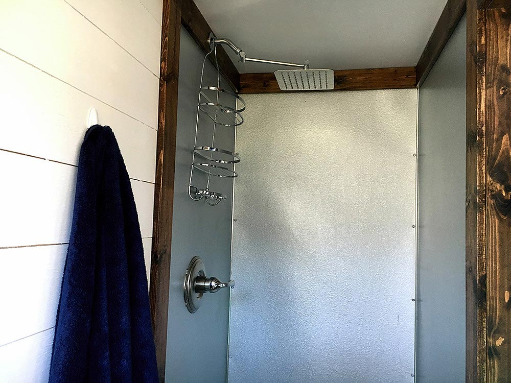 Full Size Shower - Youngstown by Harmony Tiny Homes