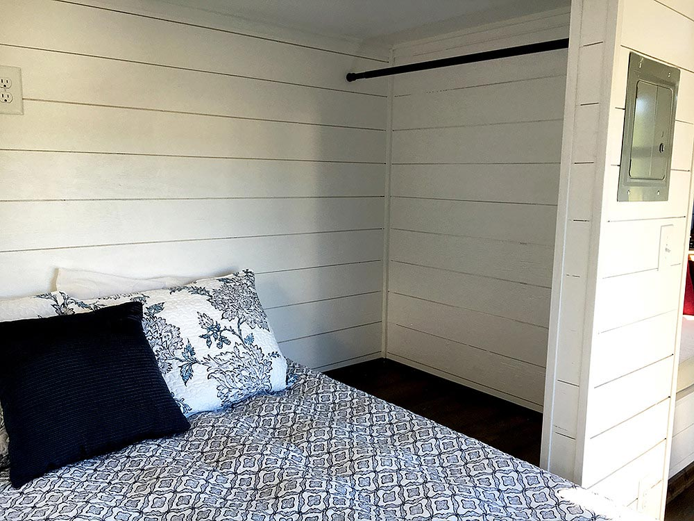 Main floor bedroom - Youngstown by Harmony Tiny Homes