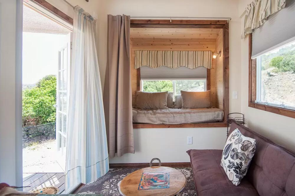Tiny houses by the zen cottages tiny living for Tiny house with main floor bedroom