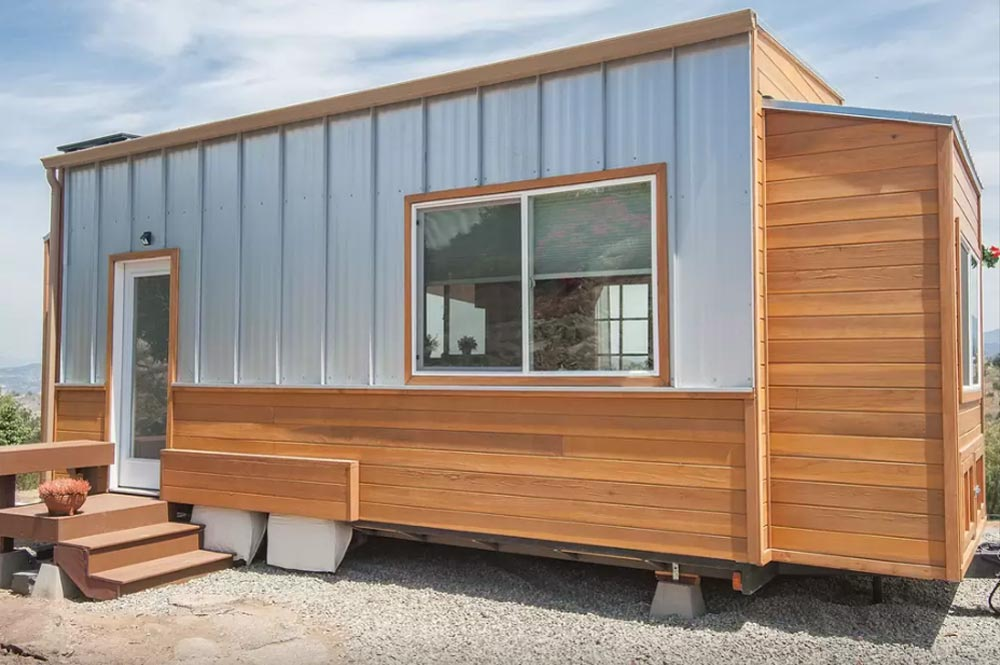 Rear Exterior View - Zen Tiny Homes