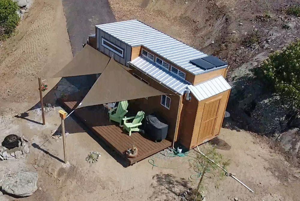 Tiny House with Solar Panels - Zen Tiny Homes