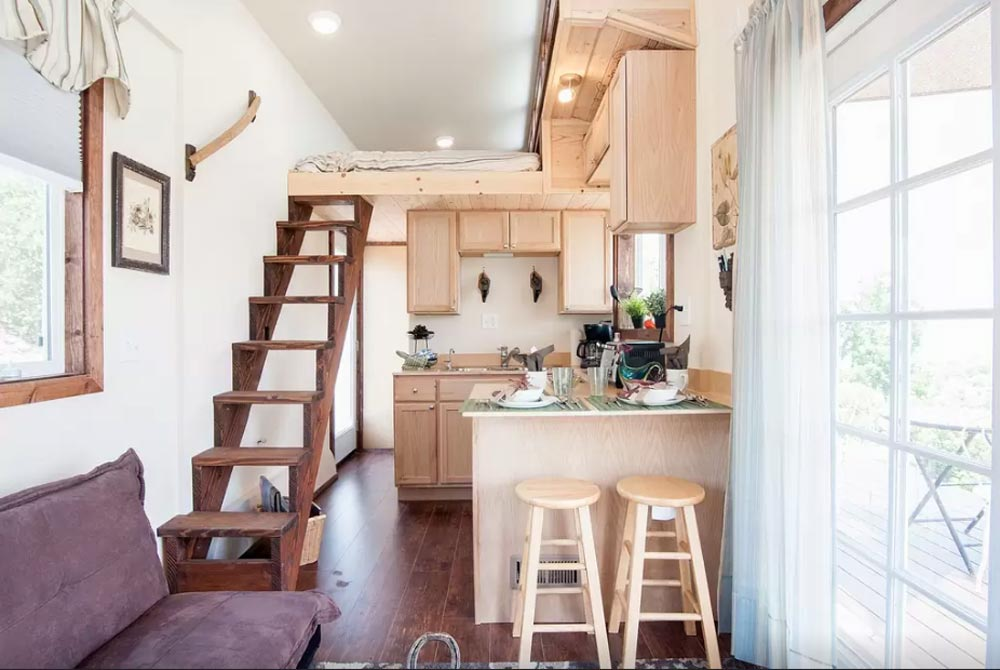 Tiny House Interior - Zen Tiny Homes