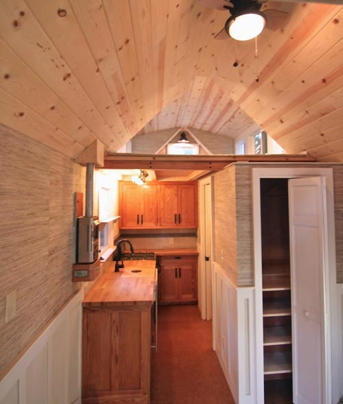 Tiny House Interior - Craftsman Bungalow by Molecule Tiny Homes