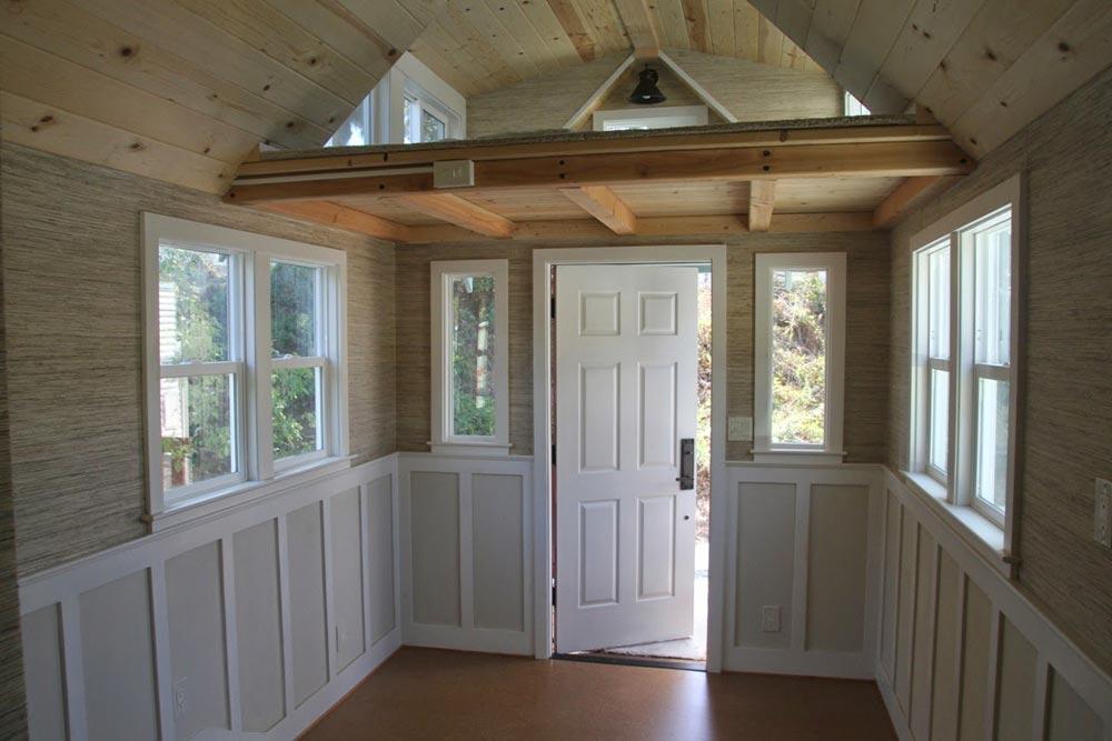 Entryway - Craftsman Bungalow by Molecule Tiny Homes