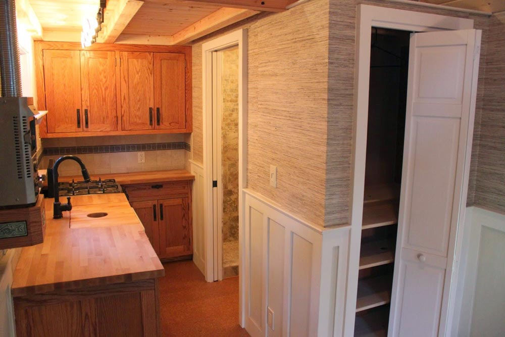 Kitchen & Storage - Craftsman Bungalow by Molecule Tiny Homes