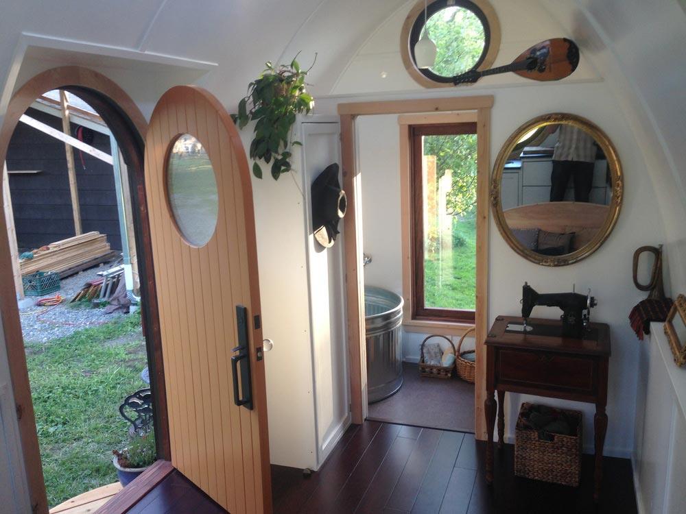 Arched Entry Door - Dewdrop by Zyl Vardos