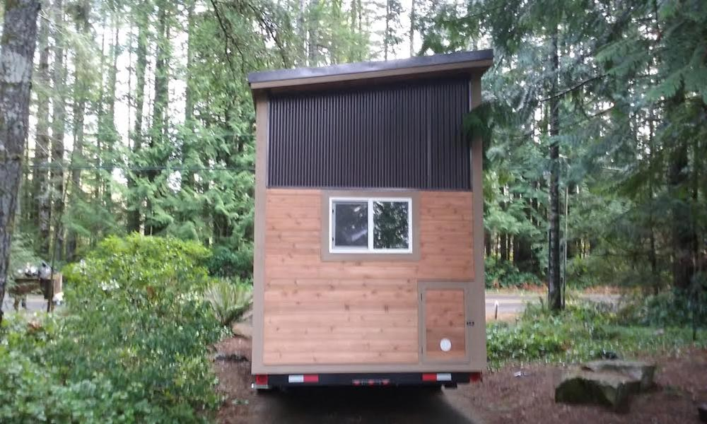 Everett by american tiny house tiny living for Shed roof tiny house