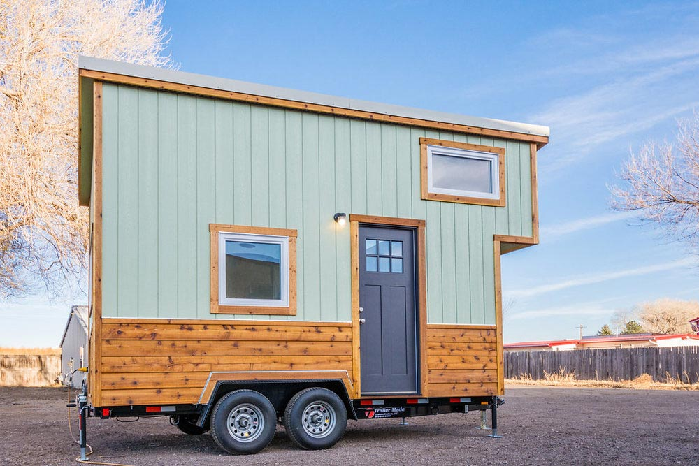 Jessica's Tiny House by MitchCraft Tiny Homes
