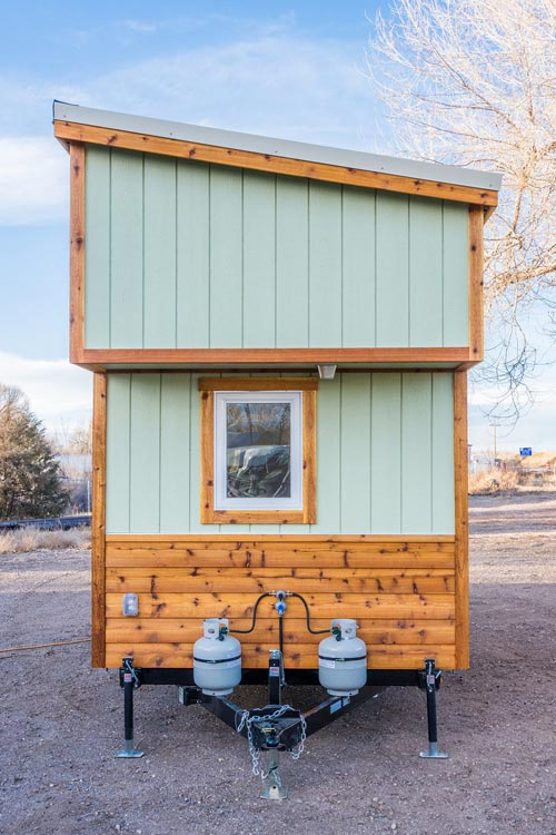 Propane Tanks - Jessica's Tiny House by MitchCraft Tiny Homes
