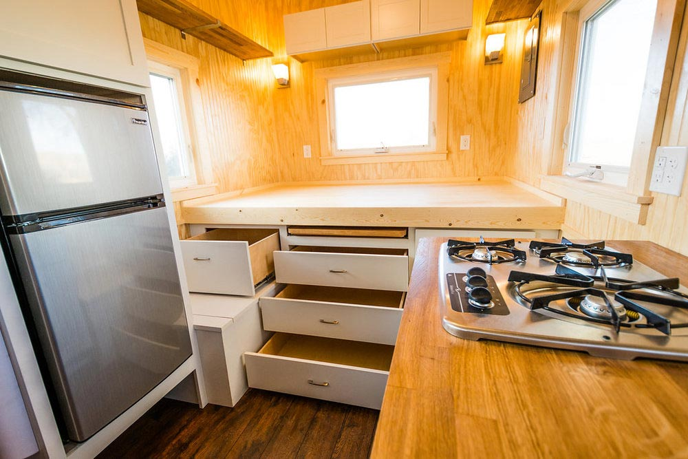 Drawers - Jessica's Tiny House by MitchCraft Tiny Homes