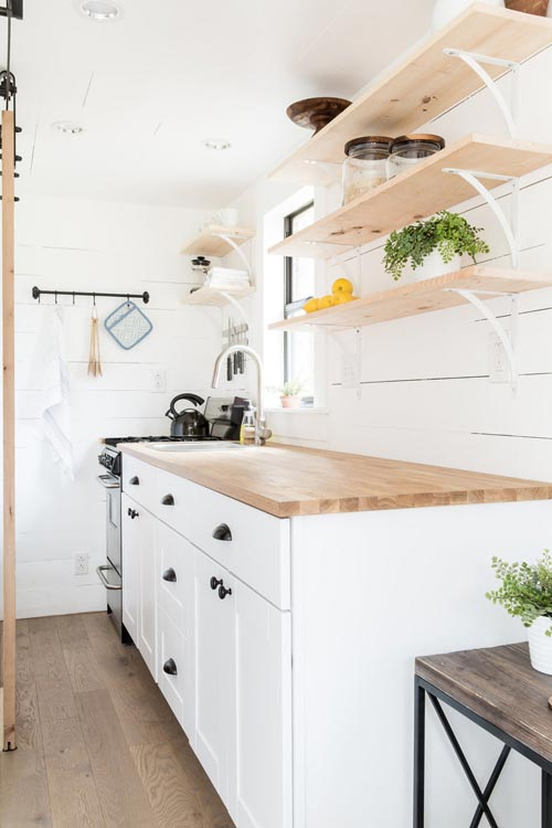 Kitchen Cabinets - Lindley by Tiny Life Construction