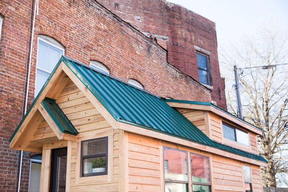 Metal Roof & Double Dormers - Lindley by Tiny Life Construction