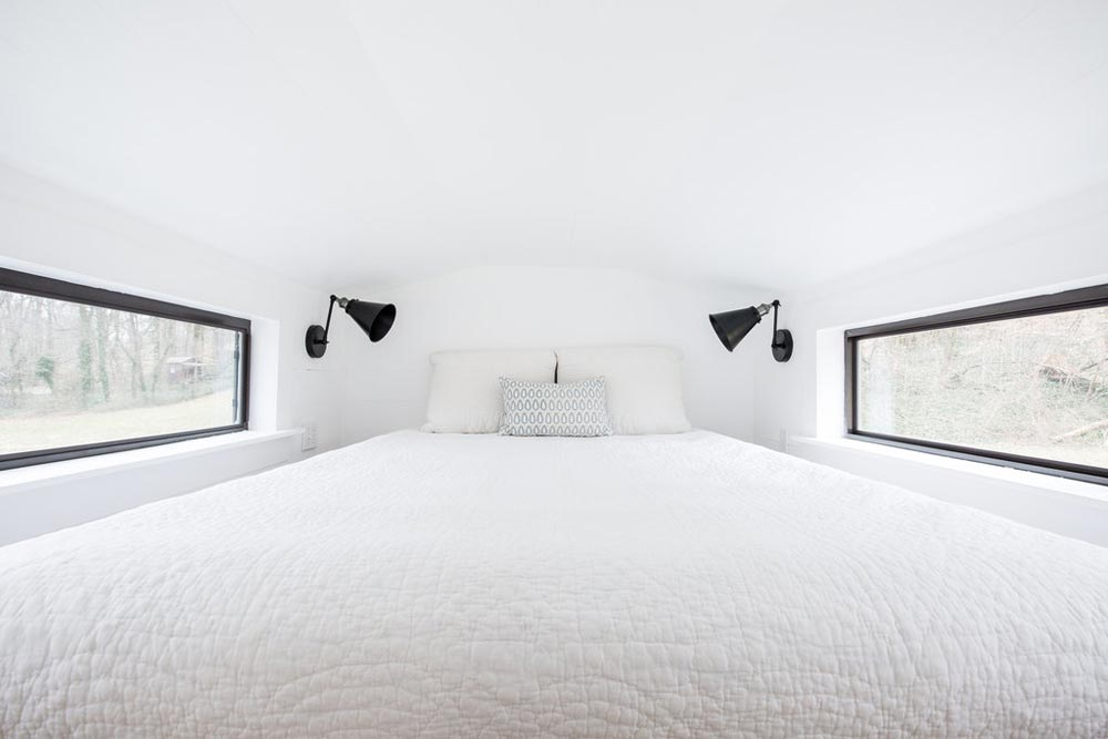 Bedroom with Double Dormers - Lindley by Tiny Life Construction