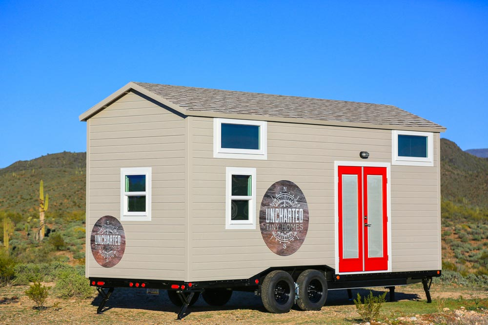 24' Tiny House - Mansion by Uncharted Tiny Homes