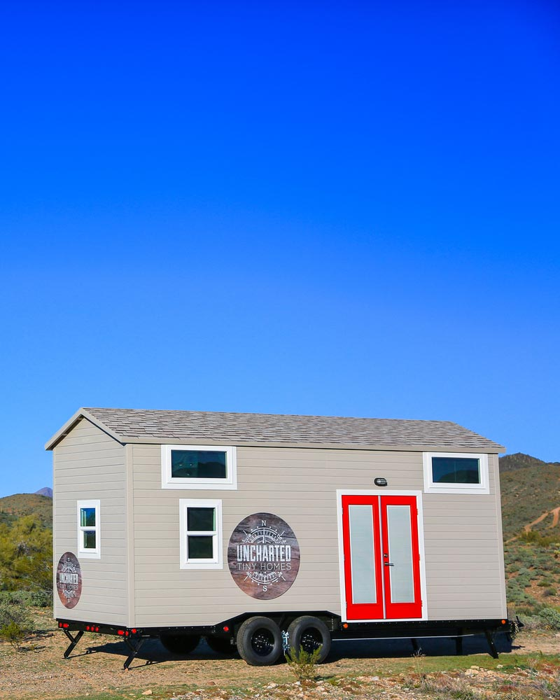 Mansion by uncharted tiny homes tiny living for Tiny house mansion