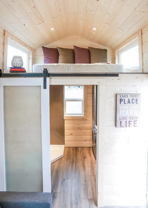 Barn Door - Mansion by Uncharted Tiny Homes