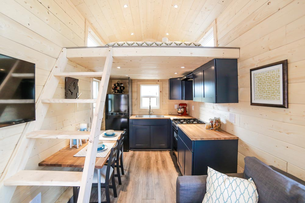 Tiny House Interior - Mansion by Uncharted Tiny Homes
