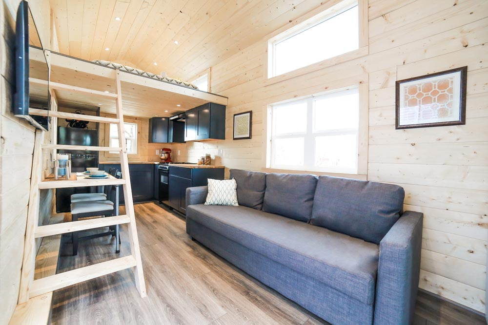 Living Area - Mansion by Uncharted Tiny Homes