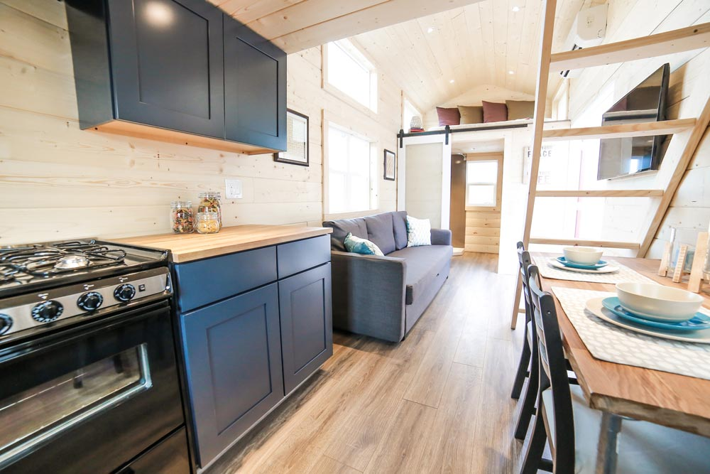 Kitchen - Mansion by Uncharted Tiny Homes