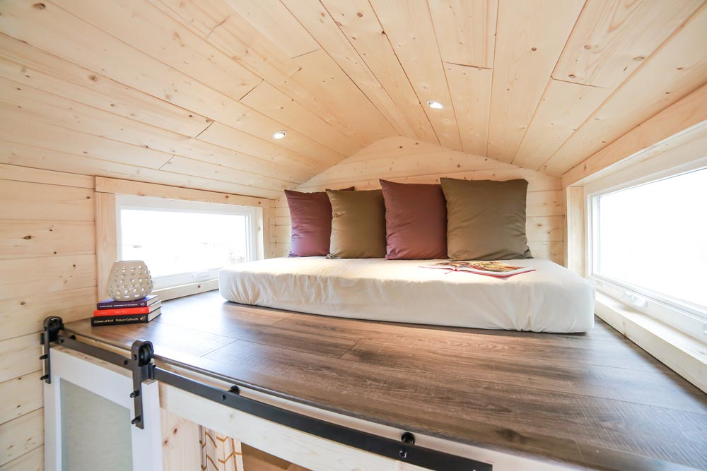 Guest Bedroom Loft - Mansion by Uncharted Tiny Homes