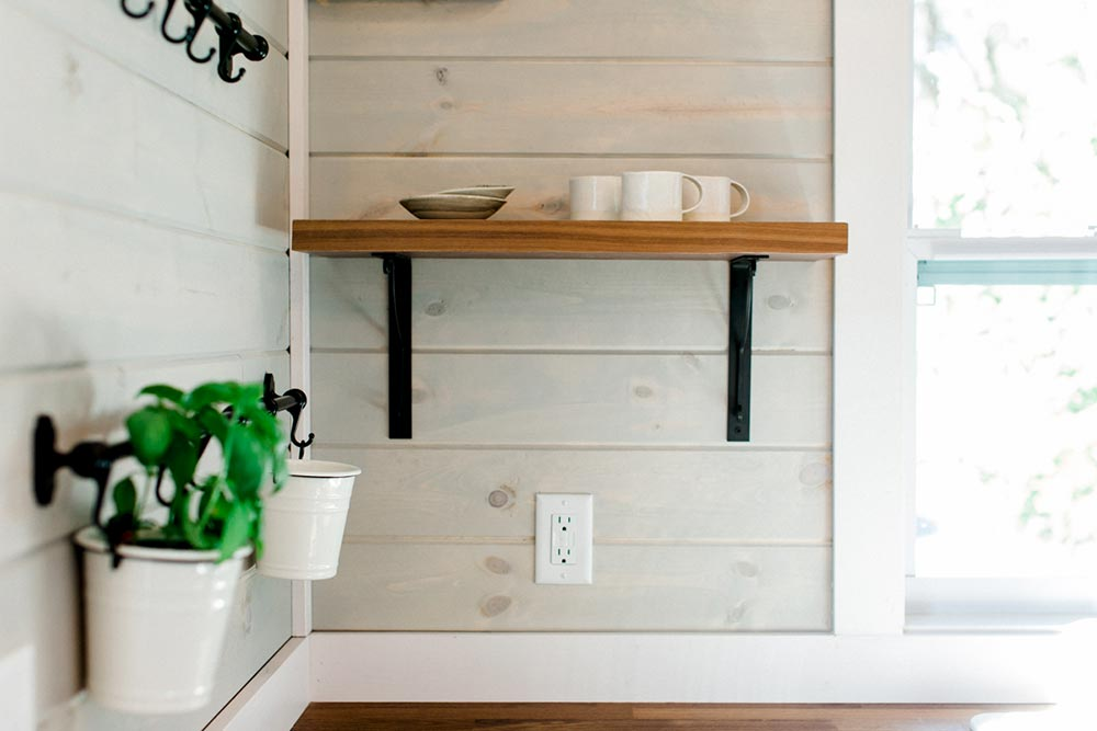 Kitchen Shelf Detail - Tiny Marta by Sanctuary Tiny Homes