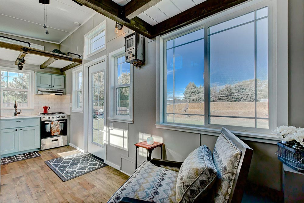 Large Picture Window - Mouse House Tiny Homes